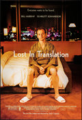 "Movie Posters:Comedy, Lost in Translation (Focus Features, 2003). Rolled, Near Mint. One Sheet (27"" X 40"") SS. Comedy.. ..."