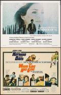 """Movie Posters:Drama, Where Love Has Gone & Other Lot (Paramount, 1964). Folded, Fine+. Half Sheets (20) (22"""" X 28""""). Drama.. ... (Total: 20 Items)"""
