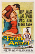 "Movie Posters:Drama, The Female Animal & Other Lot (Universal International, 1958). Folded, Very Fine-. One Sheets (5) (27"" X 41""). Drama.. ... (Total: 5 Items)"