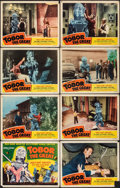 """, Tobor the Great (Republic, 1954). Fine+. Lobby Card Set of 8 (11"""" X 14""""). Science Fiction.. ... (Total: 8 Items)"""