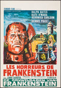 """, The Horror of Frankenstein & Other Lot (Standard, 1970). Rolled, Very Fine+. Belgians (2) (14"""" X 21"""" & 22"""" X 14.5"""") & Dutch ... (Total: 3 Items)"""