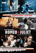 "Movie Posters:Romance, Romeo + Juliet (20th Century Fox, 1996). Rolled, Very Fine+. One Sheets (2) (27"" X 40"") DS Advance Style A & DS Internationa... (Total: 2 Items)"