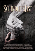 "Movie Posters:Drama, Schindler's List (Universal, 1993). Rolled, Near Mint. One Sheet (27"" X 40"") SS. Drama.. ..."