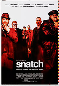 """Snatch (Columbia, 2000). Rolled, Very Fine/Near Mint. Printer's Proof One Sheet (28"""" X 41"""") DS. Crime"""