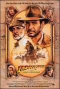 "Movie Posters:Action, Indiana Jones and the Last Crusade & Other Lot (Paramount, 1989). Rolled, Fine/Very Fine. One Sheet & Video One Sheet (27"" X... (Total: 2 Items)"