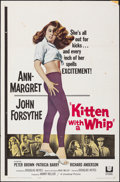 """Movie Posters:Bad Girl, Kitten with a Whip (Universal, 1964). Folded, Fine/Very Fine. One Sheet (27"""" X 41""""). Bad Girl.. ..."""