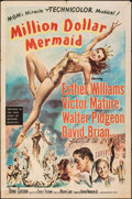 "Movie Posters:Musical, Million Dollar Mermaid & Other Lot (MGM, 1952). Folded, Fine/Very Fine. One Sheets (2) (27"" X 41""). Musical.. ... (..."