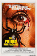 """Movie Posters:Horror, Dr. Phibes Rises Again & Other Lot (American International, 1972). Folded, Very Fine. One Sheet (27"""" X 41"""") & Uncut Pressboo... (Total: 3 Items)"""
