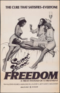 """Movie Posters:Adult, Sweet, Sweet Freedom & Other Lot (Pendulous Productions, 1976). Rolled, Overall: Fine/Very Fine. One Sheets (2) (27"""" X 41"""" &... (Total: 2 Items)"""