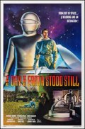 """Movie Posters:Science Fiction, The Day the Earth Stood Still (20th Century Fox, R-1994). Rolled, Very Fine+. One Sheet (27"""" X 41"""") SS, Robert Rodriguez Art..."""