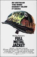"Movie Posters:War, Full Metal Jacket (Warner Bros., 1987). Rolled, Very Fine+. One Sheet (27"" X 41"") Advance, Phillip Castle Artwork. War.. ..."