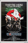 "Movie Posters:Comedy, Ghostbusters (Columbia, 1984). Flat Folded, Very Fine+. One Sheet (27"" X 41""). Comedy.. ..."