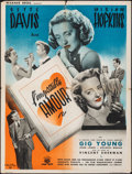 """Movie Posters:Drama, Old Acquaintance (Warner Bros., 1946). Folded, Fine/Very Fine. First Release French Moyenne (23.75"""" X 31.25"""") Vincent Criste..."""