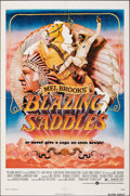 "Movie Posters:Comedy, Blazing Saddles (Warner Bros., 1974). Folded, Fine/Very Fine. One Sheet (27"" X 41""). John Alvin Artwork. Comedy.. ..."