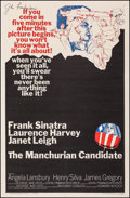 """Movie Posters:Thriller, The Manchurian Candidate (United Artists, 1962). Very Fine- on Linen. Autographed One Sheet (27"""" X 41""""). Thriller.. ..."""