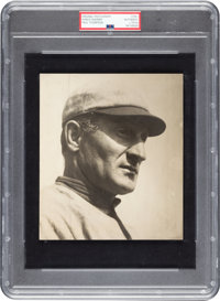 1910's Honus Wagner Original Photograph by Paul Thompson, PSA/DNA Type 1