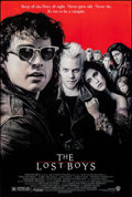 "Movie Posters:Horror, The Lost Boys (Warner Bros., 1987). Rolled, Very Fine-. One Sheet (27"" X 41"") SS. John Alvin Artwork. Horror.. ..."