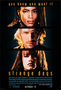 """Strange Days & Other Lot (20th Century Fox, 1995). Rolled, Very Fine+. One Sheets (2) (27"""" X 40"""") DS A..."""