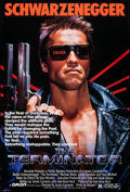 """Movie Posters:Science Fiction, The Terminator (Orion, 1984). Rolled, Very Fine-. One Sheet (27"""" X 41""""). Science Fiction.. ..."""