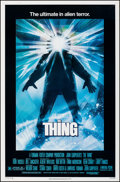 """Movie Posters:Horror, The Thing (Universal, 1982). Rolled, Very Fine-. One Sheet (27"""" X 41""""). Drew Struzan Artwork. Horror.. ..."""