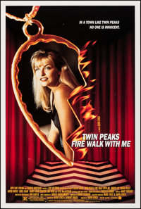 """Twin Peaks: Fire Walk with Me & Other Lot (New Line, 1992). Rolled, Very Fine. One Sheets (2) (27"""" X 41"""" &..."""