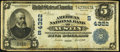 Austin, TX - $5 1902 Date Back Fr. 593 The American National Bank Ch. # (S)4322 Fine