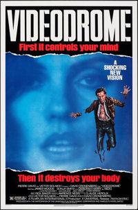 """Videodrome & Other Lot (Universal, 1983). Rolled, Overall: Very Fine+. One Sheets (2) (27"""" X 41""""). Fantasy..."""