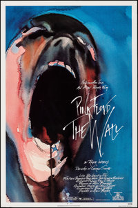 "Pink Floyd: The Wall (MGM, 1982). Rolled, Very Fine-. One Sheet (27"" X 41""). Gerald Scarfe Artwork. Rock and R..."