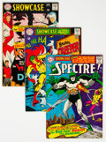 Silver Age (1956-1969):Miscellaneous, Showcase Group of 4 (DC, 1966-69) Condition: Average VF.... (Total: 4 Items)