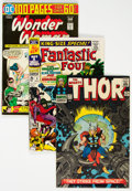 Silver Age (1956-1969):Miscellaneous, Comic Books - Assorted Silver Age Comics Group of 25 (Various Publishers, 1956-76) Condition: Average FN.... (Total: ...