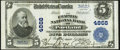 National Bank Notes:Maine, Portland, ME - $5 1902 Plain Back Fr. 604 The Chapman National Bank Ch. # 4868 Very Fine-Extremely Fine.. ...
