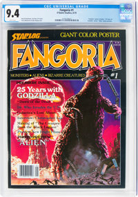 Fangoria #1 (Starlog Press, 1979) CGC NM 9.4 White pages