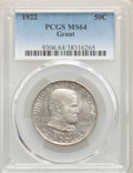 1922 50C Grant No Star MS64 PCGS. PCGS Population: (1615/1283). NGC Census: (1573/931). CDN: $200 Whsle. Bid for NGC/PCG...