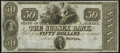 Obsoletes By State:New Jersey, Newton, NJ- Sussex Bank $50 18__ Remainder Crisp Uncirculated.. ...