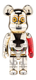 Collectible, BE@RBRICK X Luas Films. C-3PO 1000% (The Force Awakens Version), 2017. Painted cast resin. 28 x 13-1/2 x 9-1/2 inches (7...