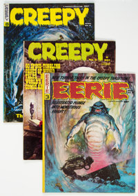 Creepy/Eerie Group of 19 (Warren, 1965-69) Condition: Average VG-.... (Total: 19 Comic Books)