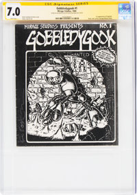 Gobbledygook #1 Signature Series - Kevin Eastman (Mirage Studios, 1984) CGC FN/VF 7.0 White pages