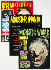Monster Magazines Group of 37 (Various, 1960s) Condition: Average GD.... (Total: 37 Items)