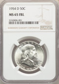 1954-D 50C MS65 Full Bell Lines NGC. NGC Census: (795/36). PCGS Population: (2331/207). CDN: $75 Whsle. Bid for NGC/PCGS...