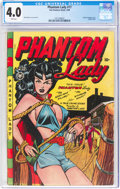 Golden Age (1938-1955):Superhero, Phantom Lady #17 (Fox Features Syndicate, 1948) CGC VG 4.0 Pink pages....