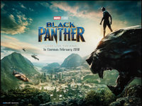 "Black Panther (Walt Disney Studios, 2018). Rolled, Very Fine-. British Quad (30"" X 40"") DS Adance. Action"