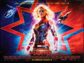 """Movie Posters:Action, Captain Marvel & Other Lot (Marvel Studios, 2019). Rolled, Overall: Very Fine-. British Quads . (2) (30"""" X 40"""") DS Advance. ... (Total: 2 Items)"""