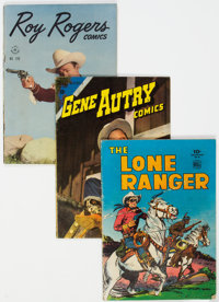 Dell Group Golden Age Westerns Group of 23 (Dell, 1945-68) Condition: Average VG.... (Total: 23 )