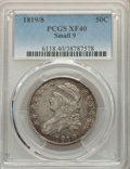Bust Half Dollars: , 1819/8 50C Small 9 XF40 PCGS. PCGS Population: (50/165). NGC Census: (15/137). CDN: $350 Whsle. Bid for NGC/PCGS XF40. Mint...