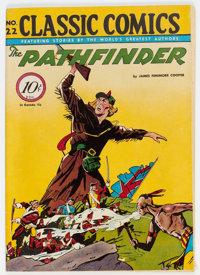 Classic Comics #22 The Pathfinder - First Edition 1A (Gilberton, 1944) Condition: FN