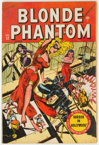 Blonde Phantom #13 (Timely, 1947) Condition: GD+