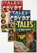 Golden Age (1938-1955):Horror, Tales From the Crypt #21, 31, and 43 Group (EC, 1950-54).... (Total: 3 Items)