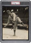 Early 1910's Walter Johnson Original Photograph Used for 1914-15 Cracker Jack Cards, PSA/DNA Type 1