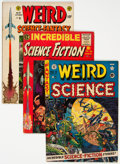 Golden Age (1938-1955):Science Fiction, EC Comics Group of 16 (EC, 1950s) Condition: Average GD.... (Total: 16 Comic Books)