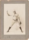 Baseball Collectibles:Photos, 1902 Cy Young Original Cabinet Photograph by Carl Horner, PSA/DNA Type 1....
